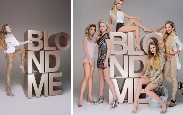 Snezhana M. for Schwarzkopf Professional Russia campaign BlondeME